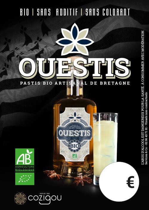 Chevalet Ouestis - Pastis artisanal Bio